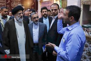 عکس/ بازدید سرزده رئیس قوه قضائیه از زندان اصفهان
