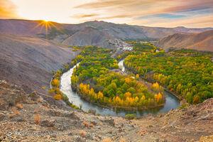 عکس/ پاییز هزار رنگ حاشیه زاینده رود