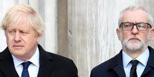 میزان شانس «کوربین» و «جانسون» برای نخستوزیری انگلیس