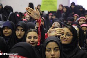 عکس/ اجتماع ۴۰۰۰ دانشجوی بسیجی در دانشگاه فردوسی مشهد