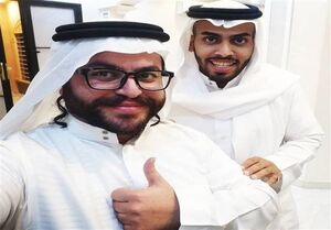 میزبانی یک فعال سعودی از صهیونیستها در منزلش