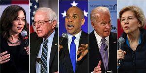 کاهش رأی نامزدهای دموکرات آمریکا در نظرسنجی جدید