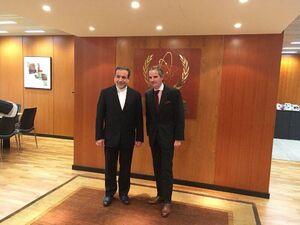 عراقچی با مدیرکل جدید آژانس انرژی اتمی دیدار کرد