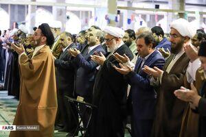 عکس/ اقامه اولین نماز جمعه توسط «حجتالاسلام شاهرخی»
