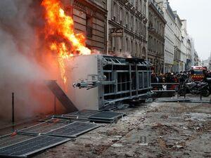 اعتصاب گسترده در فرانسه
