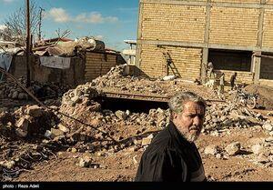عکس/ روستای ورنکش میانه یک ماه پس از زلزله