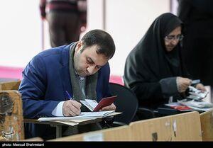 عکس/ حضور مدیران رسانهها در انتخابات