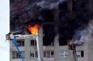 انفجار در ساختمان مسکونی در اسلواکی