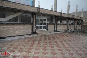 عکس/ محل انفجار در تالار عروسی سقز