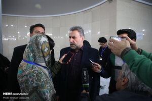 عکس/ ثبت نام رئیس پیشین کمیسیون امنیت ملی در انتخابات