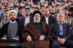 عکس/ حضور رئیس قوه قضائیه در دانشگاه تهران