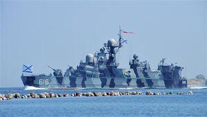 پایان بزرگترین رزمایش دریایی روسیه و مصر +فیلم
