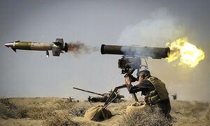 مجهز شدن قویترین ضد زره ایرانی به فیوزهای لیزری/ موشک «دهلاویه» به جنگ بالگردها و پهپادها میرود +عکس