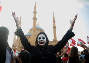 اعتراضات لبنان و نفوذیهای تخریبگر
