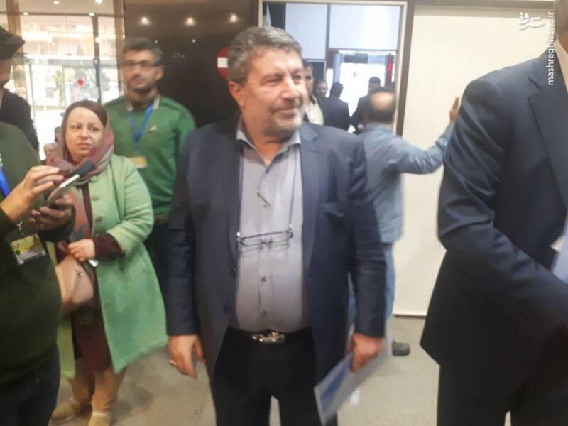 الیاس حضرتی مدیرمسئول روزنامه اعتماد