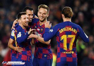 تیم منتخب بهترین همبازیهای مسی در بارسلونا +عکس