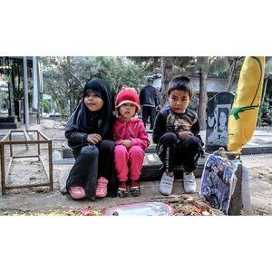 غریبتر از فرزندان این شهدای مدافع حرم ندیدم +عکس