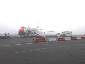 مه گرفتگی فرودگاه مشهد