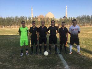 داوری خانوادگی در فوتبال ایران +عکس