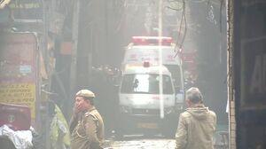 آتش سوزی در هند جان ۴۳ نفر را گرفت