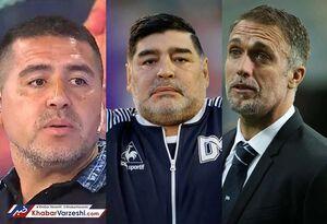 جنگ سیاسی ۳ اسطوره فوتبال آرژانتین
