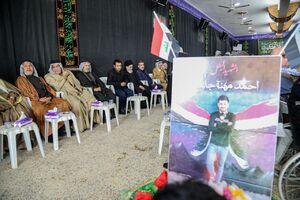 مراسم ختم عکاس شهید حشد الشعبی