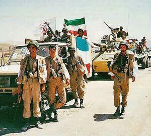 منافقین، فدائیان صدام +عکس