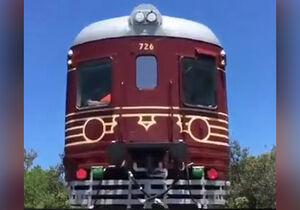 فیلم/ اولین قطار تمام خورشیدی جهان