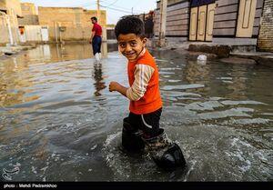 طغیان فاضلاب در خیابان های شهر کوت