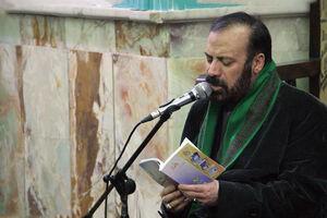 فیلم/ دعاخوانی مرحوم موسوی قهار در محضر رهبر انقلاب