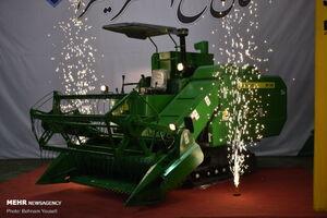 عکس/ نخستین خط تولید کمباین ایرانی