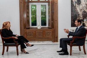 مصاحبه بشار اسد با شبکه ایتالیایی که سانسور شد