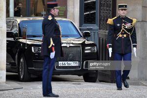 خودروی پوتین در سفر به فرانسه