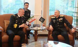 گسترش همکاری نداجا و نیروی دریایی پاکستان