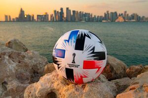 عکس/ رونمایی از توپ جام باشگاههای جهان