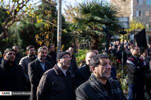 عکس/ چهرهها در تشیع مرحوم«موسوی قهار»