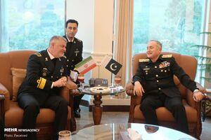 عکس/ دیدار فرماندهان نیروی دریایی ایران و پاکستان