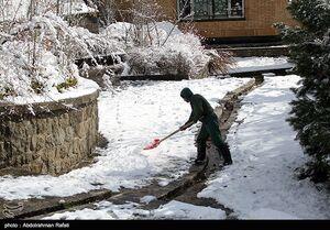 بارش برف و باران در ۱۴ استان تا شنبه