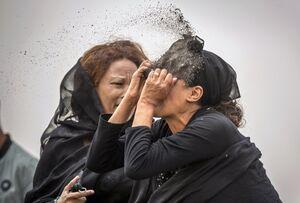 عزاداری یکی از قربانیان سقوط هواپیما در اتیوپی