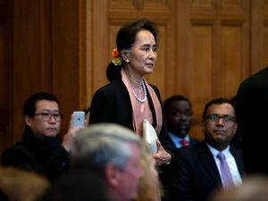رهبر میانمار به اتهام نسلکشی در دادگاه لاهه حاضر شد