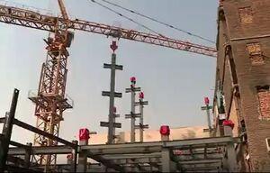 فیلم/ روند ساخت ساختمان جدید پلاسکو
