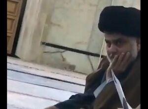 فیلم/ مقتدی در درس خارج فقه امروز آیتالله سبحانی