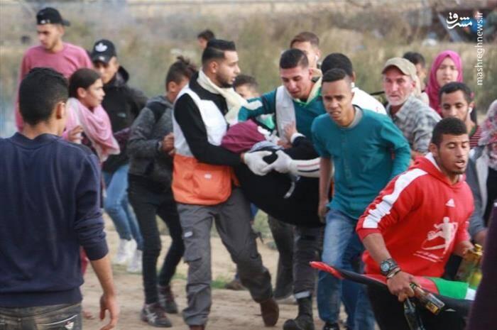سرباز صهیونیست چشم دختر فلسطینی را درآورد