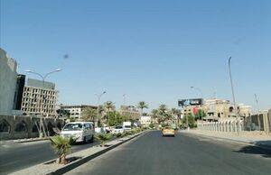 اصابت ۲ راکت به نزدیکی فرودگاه بینالمللی بغداد