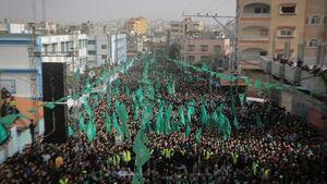 حضور دهها هزار فلسطینی در نماز جمعه مسجدالاقصی/ مراسم سالگرد تاسیس حماس با مشارکت گسترده مردم غزه+عکس