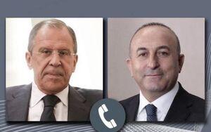 گفتوگوی تلفنی لاوروف و چاووشاوغلو درباره سوریه