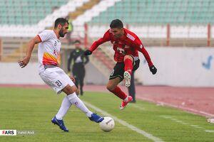 عکس/ پیروزی تراکتور مقابل فولاد خوزستان