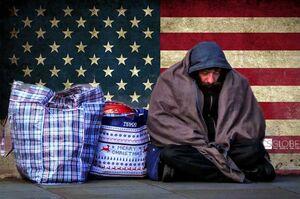 افزایش بیخانمانی در آمریکا برای سه سال متوالی