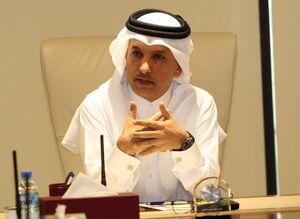 وزیر دارایی قطر علی شریف العمادی