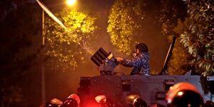 مجروحیت ۲۰ نیروی امنیتی لبنان در شب ناآرام بیروت +عکس و فیلم